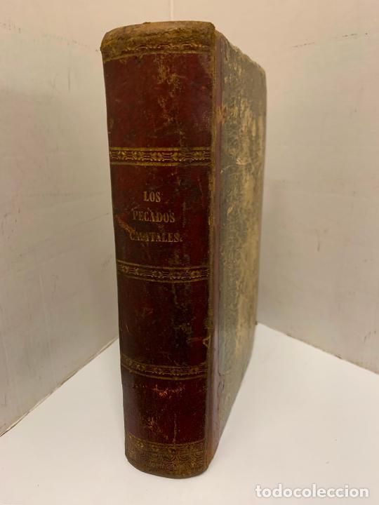 LOS PECADOS CAPITALES, FRANCISCO J. ORELLANA. 1865-1866, 2 TOMOS EN UN SOLO LIBRO (Libros Antiguos, Raros y Curiosos - Literatura - Otros)