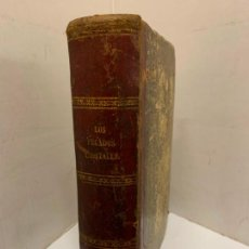 Libros antiguos: LOS PECADOS CAPITALES, FRANCISCO J. ORELLANA. 1865-1866, 2 TOMOS EN UN SOLO LIBRO. Lote 213418786