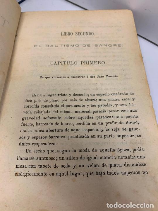 Libros antiguos: DON JUAN TENORIO, Manuel Fernandez Gonzalez 1883, 2 tomos - Foto 3 - 213424528