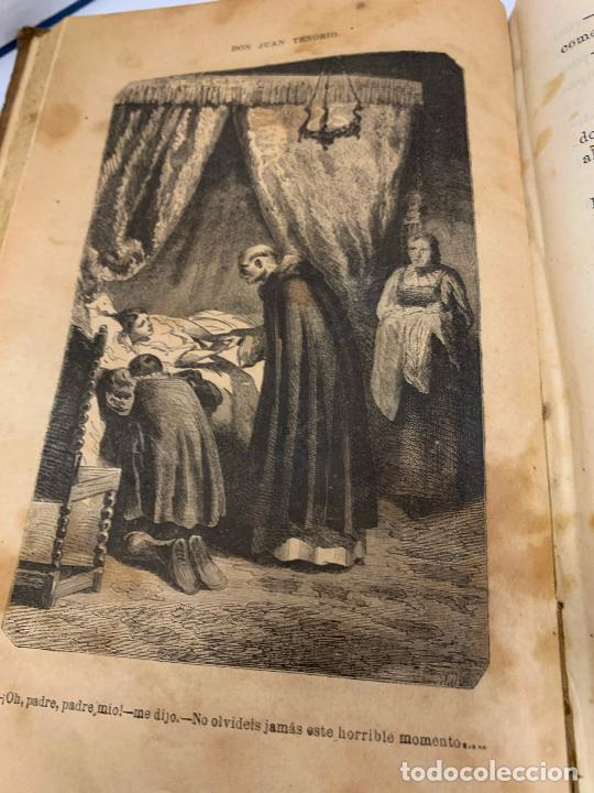 Libros antiguos: DON JUAN TENORIO, Manuel Fernandez Gonzalez 1883, 2 tomos - Foto 5 - 213424528