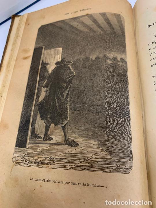 Libros antiguos: DON JUAN TENORIO, Manuel Fernandez Gonzalez 1883, 2 tomos - Foto 6 - 213424528