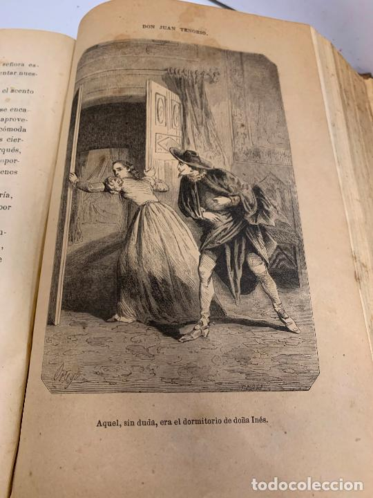 Libros antiguos: DON JUAN TENORIO, Manuel Fernandez Gonzalez 1883, 2 tomos - Foto 7 - 213424528