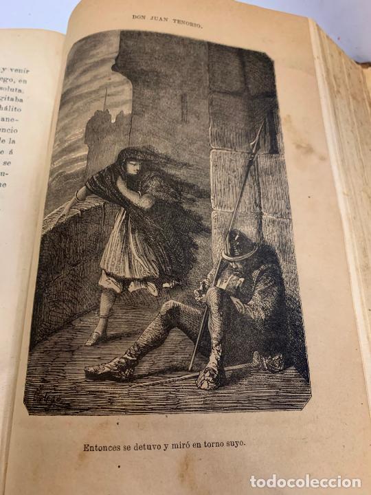 Libros antiguos: DON JUAN TENORIO, Manuel Fernandez Gonzalez 1883, 2 tomos - Foto 8 - 213424528