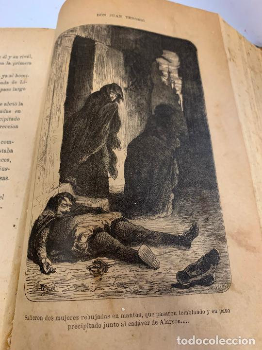 Libros antiguos: DON JUAN TENORIO, Manuel Fernandez Gonzalez 1883, 2 tomos - Foto 9 - 213424528