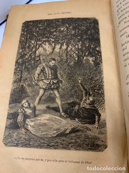 Libros antiguos: DON JUAN TENORIO, Manuel Fernandez Gonzalez 1883, 2 tomos - Foto 10 - 213424528