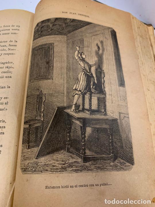 Libros antiguos: DON JUAN TENORIO, Manuel Fernandez Gonzalez 1883, 2 tomos - Foto 11 - 213424528