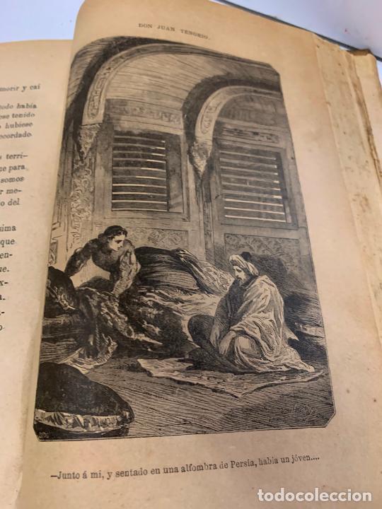 Libros antiguos: DON JUAN TENORIO, Manuel Fernandez Gonzalez 1883, 2 tomos - Foto 12 - 213424528