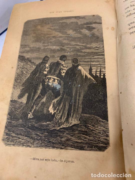 Libros antiguos: DON JUAN TENORIO, Manuel Fernandez Gonzalez 1883, 2 tomos - Foto 13 - 213424528