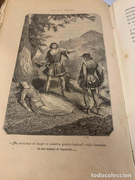 Libros antiguos: DON JUAN TENORIO, Manuel Fernandez Gonzalez 1883, 2 tomos - Foto 14 - 213424528