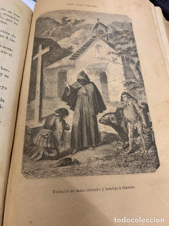 Libros antiguos: DON JUAN TENORIO, Manuel Fernandez Gonzalez 1883, 2 tomos - Foto 15 - 213424528
