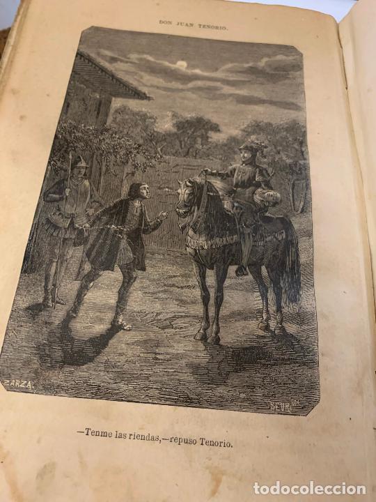 Libros antiguos: DON JUAN TENORIO, Manuel Fernandez Gonzalez 1883, 2 tomos - Foto 16 - 213424528