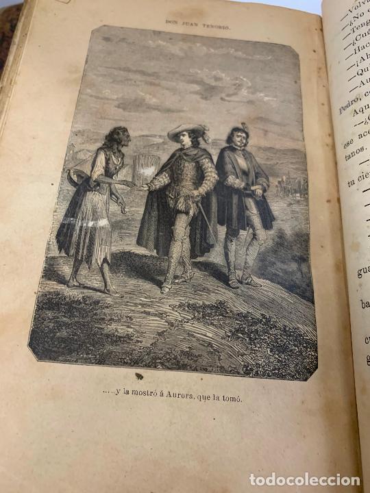 Libros antiguos: DON JUAN TENORIO, Manuel Fernandez Gonzalez 1883, 2 tomos - Foto 17 - 213424528