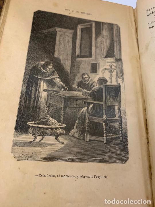 Libros antiguos: DON JUAN TENORIO, Manuel Fernandez Gonzalez 1883, 2 tomos - Foto 19 - 213424528