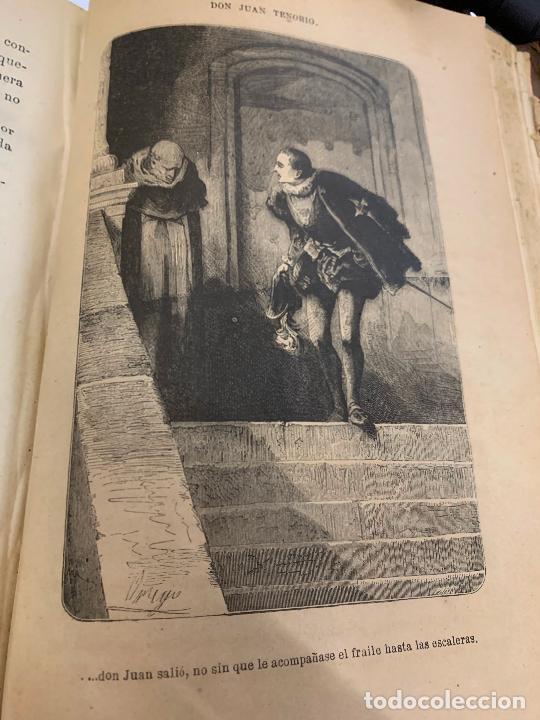 Libros antiguos: DON JUAN TENORIO, Manuel Fernandez Gonzalez 1883, 2 tomos - Foto 21 - 213424528