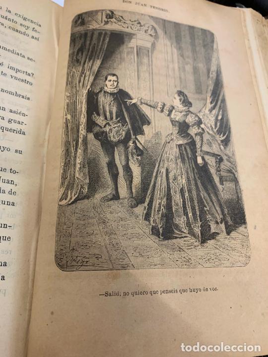 Libros antiguos: DON JUAN TENORIO, Manuel Fernandez Gonzalez 1883, 2 tomos - Foto 22 - 213424528