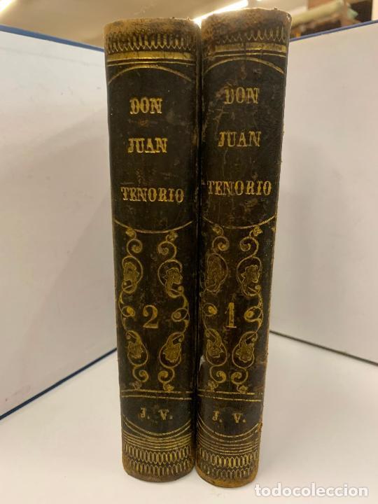 DON JUAN TENORIO, MANUEL FERNANDEZ GONZALEZ 1883, 2 TOMOS (Libros Antiguos, Raros y Curiosos - Literatura - Otros)
