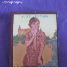 Libros antiguos: ALICE DECAEN. LOS PRETENDIENTES DE MISS POKER. SANTIAGO VIVES 1928.. Lote 213643277