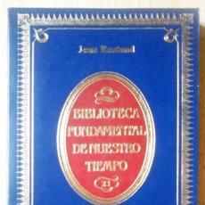 Libros antiguos: EL HOMBRE (JEAN ROSTAND) BIBLIOTECA FUNDAMENTAL DE NUESTRO TIEMPO Nº 23. Lote 213673322