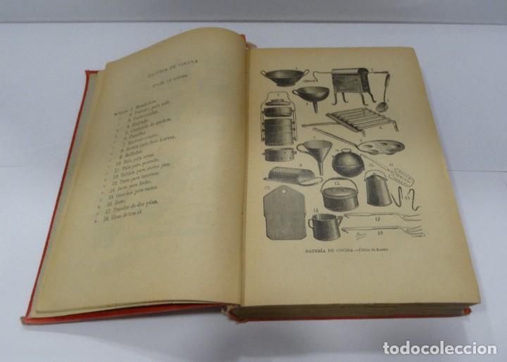Libros antiguos: El cocinero practico 1892. Nuevo tratado de cocina. 380 Grabados. Saturnino Calleja - Foto 8 - 213693845