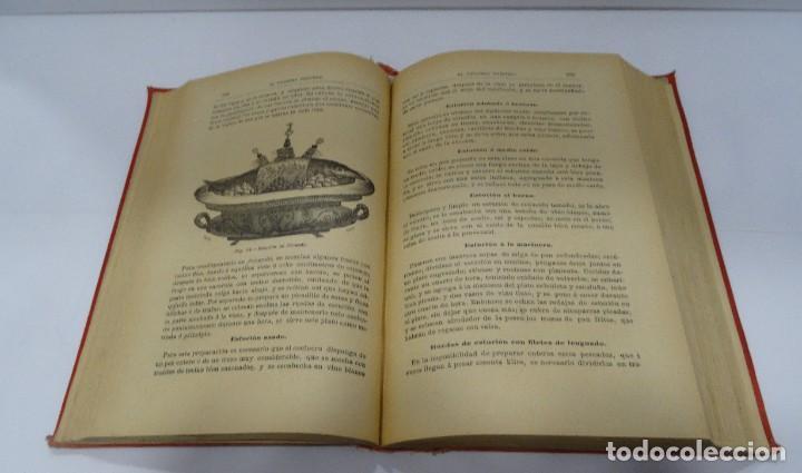 Libros antiguos: El cocinero practico 1892. Nuevo tratado de cocina. 380 Grabados. Saturnino Calleja - Foto 10 - 213693845