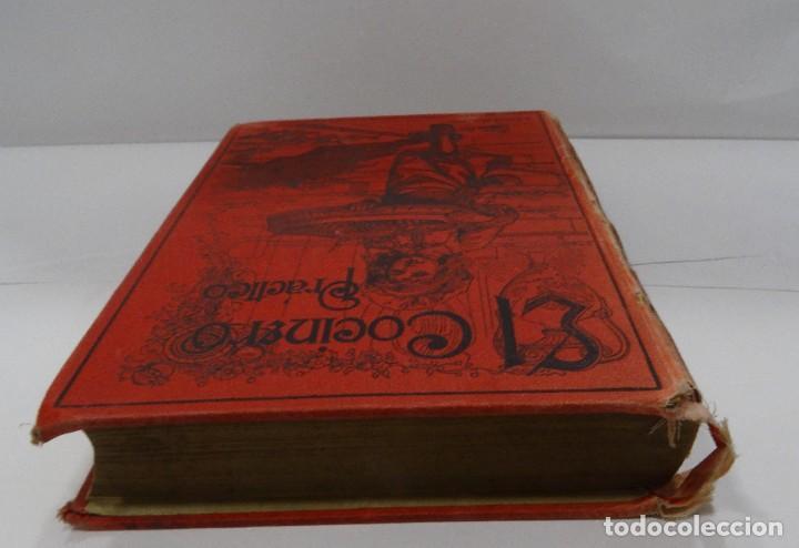 Libros antiguos: El cocinero practico 1892. Nuevo tratado de cocina. 380 Grabados. Saturnino Calleja - Foto 13 - 213693845