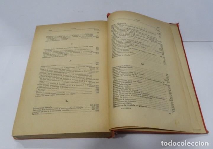 Libros antiguos: El cocinero practico 1892. Nuevo tratado de cocina. 380 Grabados. Saturnino Calleja - Foto 15 - 213693845