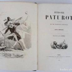 Libros antiguos: 231 ILUSTRACIONES DE J.J. GRANDVILLE EN EDICIÓN ORIGINAL DE 1846- JEROME PATUREAU POR L. REYBAUD. Lote 213268142