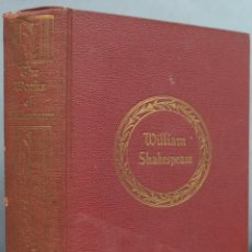 Libros antiguos: THE COMPLETE WORKS OF SHAKESPEARE. WALTER J. BLACK. Lote 213783083