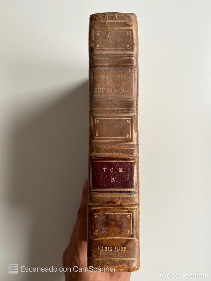 Libros antiguos: MEMOIRES DU DUC DE ROVIGO. M. SAVARY. TOME IV. PARIS, 1828. EN FRANCES - Foto 2 - 213903950