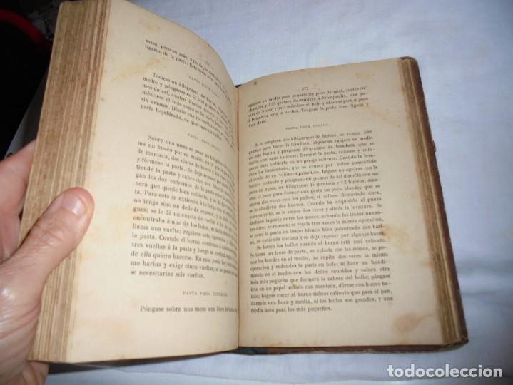 Libros antiguos: COCINA MODERNA.TRATADO COMPLETO DE COCINA PASTELERIA REPOSTERIA Y BOLLERIA.MADRID 1880.6ª EDICION - Foto 6 - 214039790