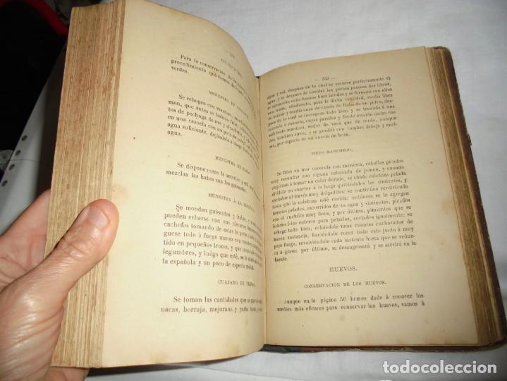 Libros antiguos: COCINA MODERNA.TRATADO COMPLETO DE COCINA PASTELERIA REPOSTERIA Y BOLLERIA.MADRID 1880.6ª EDICION - Foto 7 - 214039790