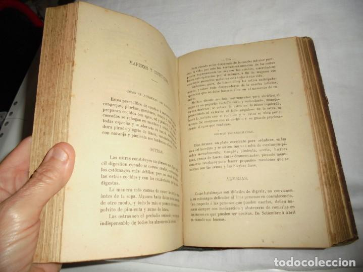 Libros antiguos: COCINA MODERNA.TRATADO COMPLETO DE COCINA PASTELERIA REPOSTERIA Y BOLLERIA.MADRID 1880.6ª EDICION - Foto 8 - 214039790