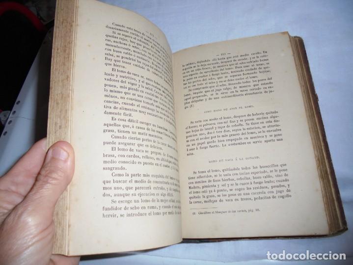 Libros antiguos: COCINA MODERNA.TRATADO COMPLETO DE COCINA PASTELERIA REPOSTERIA Y BOLLERIA.MADRID 1880.6ª EDICION - Foto 9 - 214039790