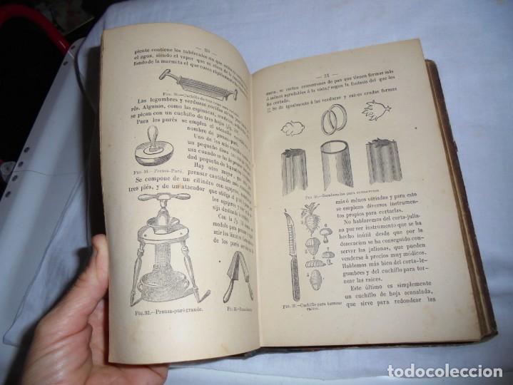 Libros antiguos: COCINA MODERNA.TRATADO COMPLETO DE COCINA PASTELERIA REPOSTERIA Y BOLLERIA.MADRID 1880.6ª EDICION - Foto 12 - 214039790