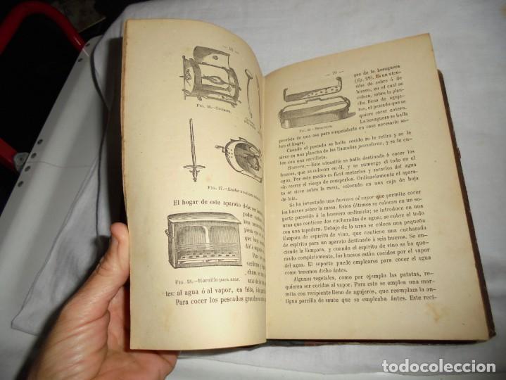 Libros antiguos: COCINA MODERNA.TRATADO COMPLETO DE COCINA PASTELERIA REPOSTERIA Y BOLLERIA.MADRID 1880.6ª EDICION - Foto 13 - 214039790