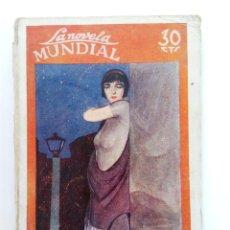 Libros antiguos: UN SECESO VULGAR - PEDRO DE REPIDE - LA NOVELA MUNDIAL 1927. Lote 214082270