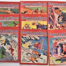Livres anciens: LOTE 8 NÚMEROS DE FAIRYLAND TALES, AÑOS 1934 A 1936 - IMPRESOS EN LONDRES - EN INGLÉS. Lote 214092196