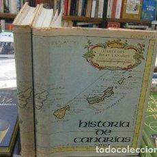 Libros antiguos: HISTORIA DE CANARIAS. 2 TOMOS. DE VIERA, JOSEPH, Y CLAVIJO. A-LCAN-079. Lote 214114125