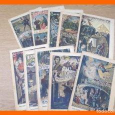 Livres anciens: EL HIJO DEL CONTRABANDISTA Ó EL ABISMO DE DOS RAZAS .- NROS. 10, 11, 12, 13, 14, 15, 16, 17, 19 Y 20. Lote 214217070