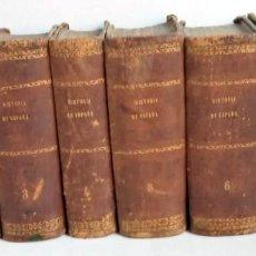 Libros antiguos: 1867 - HISTORIA DE ESPAÑA 8 TOMOS - MARIANA - ILUSTRADO - COMPLETA. Lote 214219623