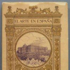 Livres anciens: REAL PALACIO DE MADRID. EL ARTE EN ESPAÑA. Lote 214399540