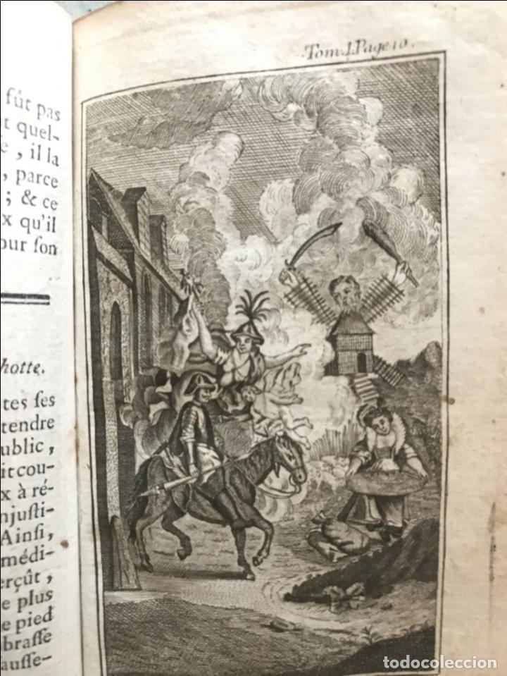 Libros antiguos: Histoire de ladmirable Don Quichote de la Mancha (6 tomos), 1773. M. de Cervantes. Grabados - Foto 13 - 214480975