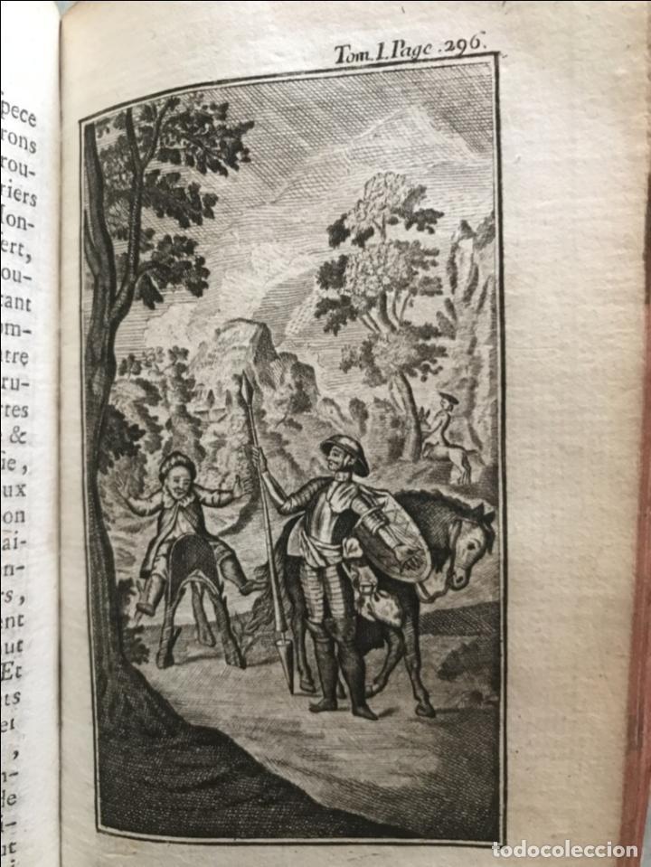 Libros antiguos: Histoire de ladmirable Don Quichote de la Mancha (6 tomos), 1773. M. de Cervantes. Grabados - Foto 16 - 214480975