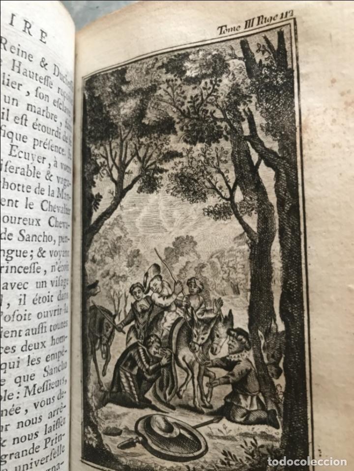 Libros antiguos: Histoire de ladmirable Don Quichote de la Mancha (6 tomos), 1773. M. de Cervantes. Grabados - Foto 34 - 214480975