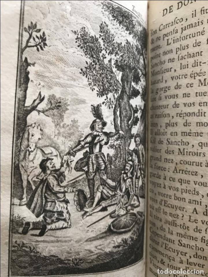 Libros antiguos: Histoire de ladmirable Don Quichote de la Mancha (6 tomos), 1773. M. de Cervantes. Grabados - Foto 36 - 214480975