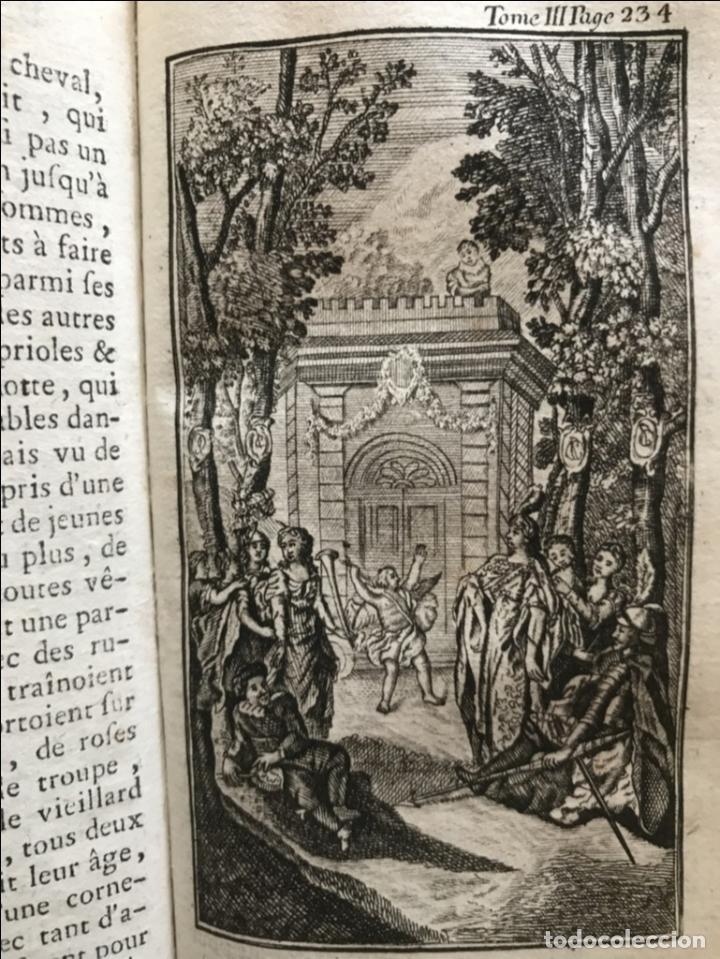 Libros antiguos: Histoire de ladmirable Don Quichote de la Mancha (6 tomos), 1773. M. de Cervantes. Grabados - Foto 38 - 214480975