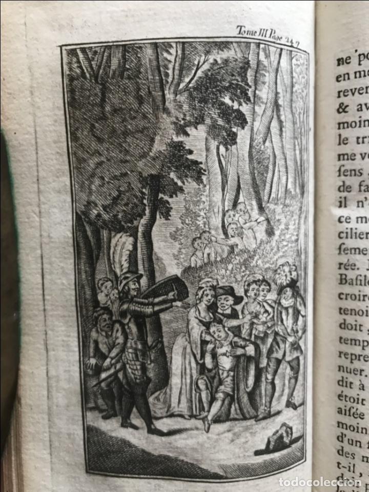 Libros antiguos: Histoire de ladmirable Don Quichote de la Mancha (6 tomos), 1773. M. de Cervantes. Grabados - Foto 40 - 214480975