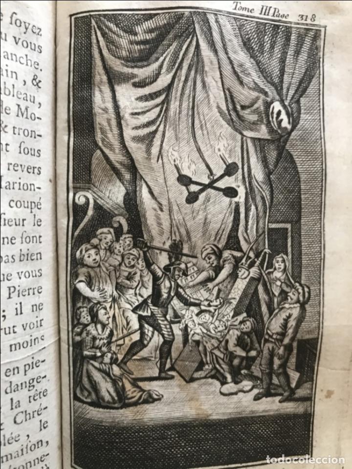 Libros antiguos: Histoire de ladmirable Don Quichote de la Mancha (6 tomos), 1773. M. de Cervantes. Grabados - Foto 44 - 214480975