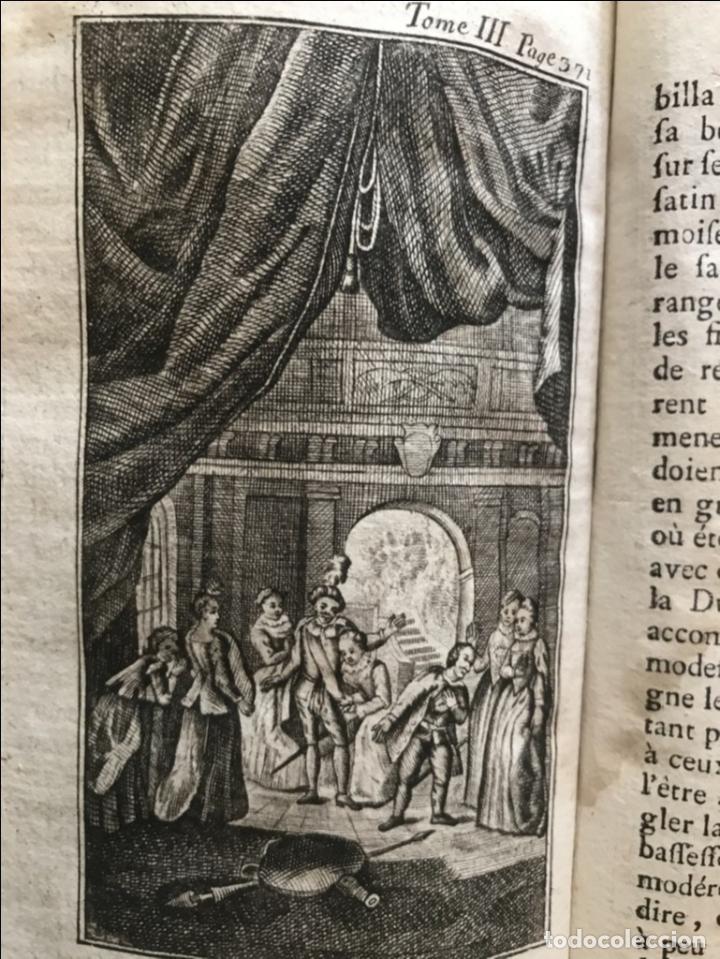 Libros antiguos: Histoire de ladmirable Don Quichote de la Mancha (6 tomos), 1773. M. de Cervantes. Grabados - Foto 46 - 214480975