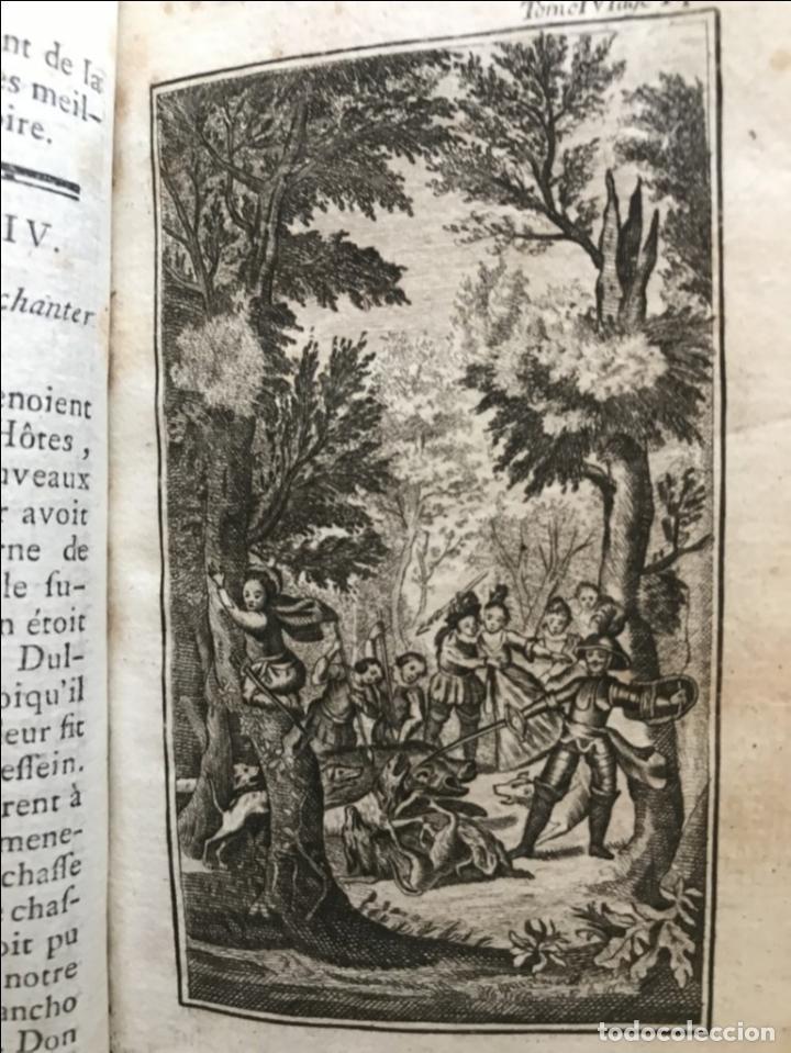 Libros antiguos: Histoire de ladmirable Don Quichote de la Mancha (6 tomos), 1773. M. de Cervantes. Grabados - Foto 52 - 214480975